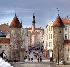 Welcome to Tallinn's Old Town