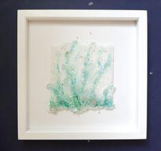 20 Crushed Glass Art Ideas Glass Art Crushed Glass Sea Glass Art