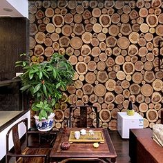 Hanmero Vintage Novel 3d Tree Ring Patterns Faux Stump Wood Stakes Vinyl PVC Wallpaper Rolls for Home Walls Hanmero http://www.amazon.com/dp/B012V642DG/ref=cm_sw_r_pi_dp_QVMtwb1323N6Q