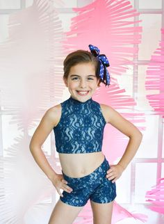 2 Piece Dance Presley Set Booty Shorts and by JustDanceCustoms