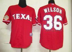 http://www.xjersey.com/rangers-36-wilson-red-2011-world-series-jerseys.html Only$34.00 RANGERS 36 WILSON RED 2011 WORLD SERIES JERSEYS #Free #Shipping!