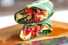 This healthy breakfast burrito is paleo, gluten free and the perfect antidote to a boring breakfast rut. It's an easy wrap that you can take on the go!