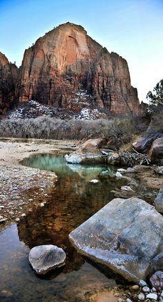 Zion National Park, Utah; photo by Ryan Houston