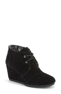 TOMS 'Desert' Wedge Bootie (Women) available at #Nordstrom. 7.5