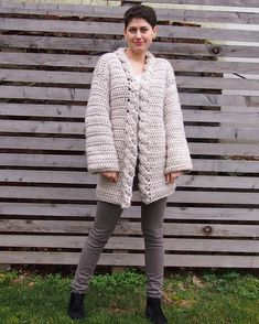 Ravelry: Very Winter cardigan pattern by Ana D