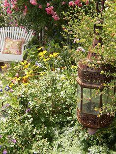a garden needs rusty bits