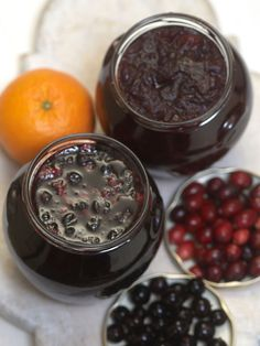 Homemade Jam is easier than you think. Four Steps, only 4 ingredients and jars. A gift everyone will love! http://www.hgtv.com/handmade/25-homemade-holiday-food-gift-recipes/pictures/page-17.html?soc=pinterest