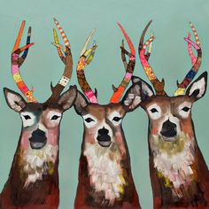 Found it at AllModern - Designer Deer by Eli Halpin Painting Print on Canvas http://www.allmodern.com/deals-and-design-ideas/p/Mid-Century-Wall-Art-Designer-Deer-by-Eli-Halpin-Painting-Print-on-Canvas~GNBX1673~E19815.html?refid=SBP.rBAZEVU7vxmB91P_Z0rvAqfkrp8jrk17rBFmZDk2g70