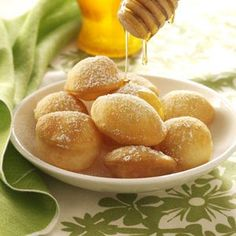 Sopaipillas Recipe from Taste of Home -- shared by Mary Anne McWhirter of Pearland, Texas