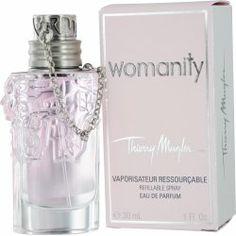 74837f35aa6 Amazon.com   Womanity by Thierry Mugler EDP Spray 1.0 oz   Deodorants    Beauty
