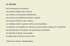 El Sistema / El libro de los abrazos - Eduardo Galeano
