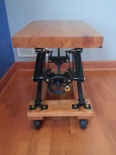 Industrial Style Scissor Lift End Table - Imgur