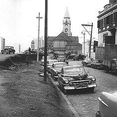 Praça Roosevelt, década de 1950.