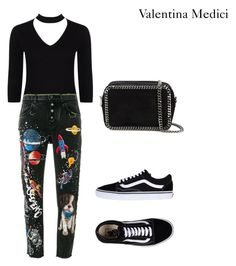 cool by valentinamedici on Polyvore featuring polyvore, fashion, style, Dolce&Gabbana, Boohoo, Vans, STELLA McCARTNEY and clothing