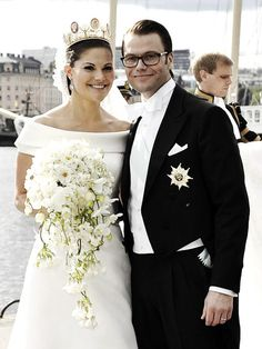 Middleton Royalty:  Crown Princess Victoria and Prince Daniel on their wedding day, 2010
