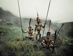 A different Papuan tribe
