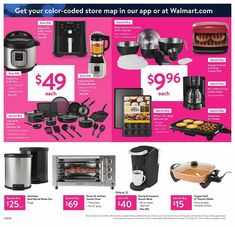 Browse the complete Walmart Black Friday Ad for 2019 including store hours and a complete listing of deals. Walmart Black Friday Ad, Black Friday News, Black Friday 2019, Christmas Deals, Printable Coupons, Pressure Cooking, Walmart Shopping, Ads, Better Homes