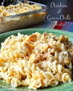 seven thirty three - - - a creative blog: Chicken & Green Chili Pasta
