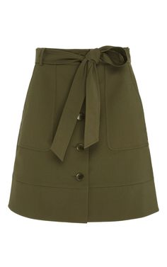 TIBI City Stretch Cargo Skirt. #tibi #cloth #skirt