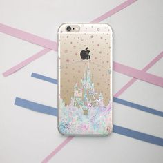 Disney Castle Clear Case iPhone 7 Samsung Edge Case iPhone 6