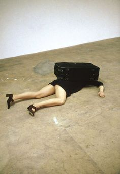 """""""One Minute Sculptures"""" by Erwin Wurm"""