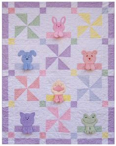 baby quilts | the long awaited cute baby blanket quilt pattern and embroidery design ...