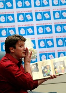 Nathan Fillion reading Knuffle Bunny (Just when I thought I couldn't love this man any more).