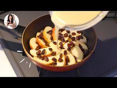Con solo 1 Manzana y 1 sartén tendrás un postre increíble y saludable 🍎 | Auxy - YouTube Kitchen Recipes, Pie Recipes, Sweet Recipes, Dessert Recipes, Cooking Recipes, Healthy Recipes, Apple Desserts, Delicious Desserts, Good Food