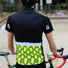 *TWIN SIX* ride the lightning jersey (black/neon yellow)