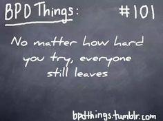 BPD Things #101 (Borderline Personality Disorder)