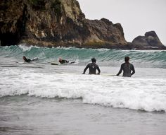 Get the full Oregon Coast experience with chilly Northwest surfing, tide pool viewing and a warm cup of clam chowder.