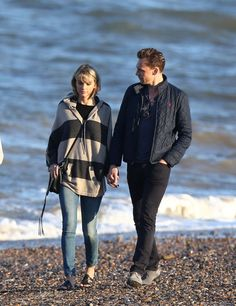 Taylor, Tom, and his mother at the beach 6.25.16