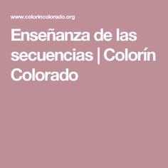 Enseñanza de las secuencias | Colorín Colorado