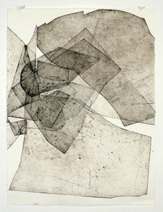 Batholith Etching, 2010 by Eben Goff, aluminum plate monoprint on Rives BFK, in welded aluminum frame, Grafik Art, Art Graphique, Art Plastique, Painting & Drawing, Fabric Drawing, Encaustic Painting, Printmaking, Art Drawings, Contemporary Art