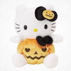 Halloween hello kitty beanie