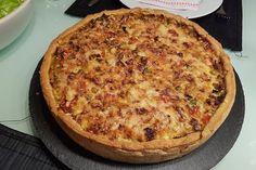 Minced meat – sour cream cake by Breakfast Pizza, Vegan Breakfast Recipes, Torte Au Chocolat, Sour Cream Cake, Carne Picada, Mince Meat, Best Meat, Vegetable Drinks, Bratwurst