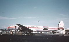 Lockheed L-1049H-82 Super Constellation (YV-C-LBI, c/n 4808) of LEBCA (Linea Expresa Bolivar C.A.).