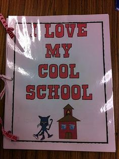 This book would be good at mid second week to draw/write items they are loving about school.