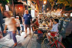 Center City, Rittenhouse Square, Olde City - something fun to do for a night in Philly!