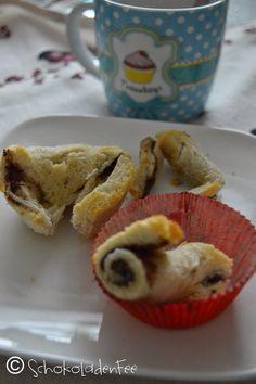 SchokoladenFee: Ich backs mir // Toasthörnchen #ichbacksmir #frühstück #breakfast