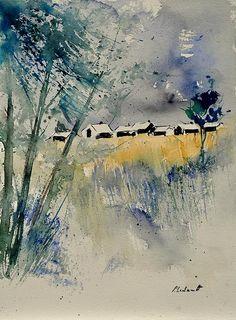 Watercolour - Pol Ledent