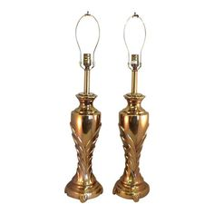Vintage brass Rembrandt...great for a Hollywood Regency theme!