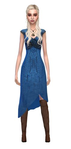 Daenerys Targaryen Sims 4 Game of Thrones