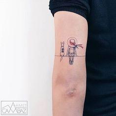 Mini Tattoos, Dog Tattoos, Black Tattoos, Body Art Tattoos, Sleeve Tattoos, Fox Tattoo Design, Full Sleeve Tattoo Design, Tattoo Designs, Dot Work Tattoo