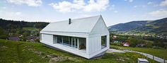 kwk promes floats konieczny's ark above polish landscape Residential Architecture, Contemporary Architecture, Modern Contemporary, Interior Architecture, Interior Design, Shed Homes, Ark, Gazebo, Outdoor Structures