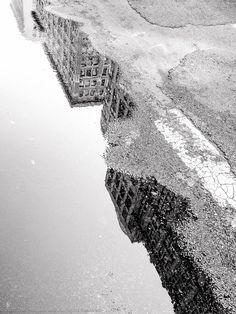 City Reflections I Monochrome Photography, Urban Photography, Street Photography, Abstract City, Camera Angle, Urban Life, Reflection, How To Memorize Things, In This Moment