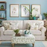 Duck egg living room ideas