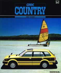 https://flic.kr/p/oZqJ9n | Honda Civic Mk2 Country Japan Brochure 1982 | Honda Civic Mk2 Wagon Country