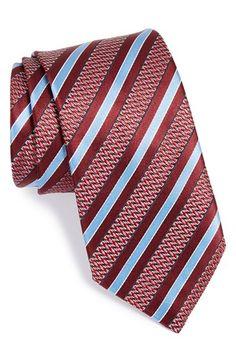 Free shipping and returns on Ermenegildo Zegna Silk Stripe Tie at Nordstrom.com. Blocky stripes pattern a rich tie cut from pure silk.