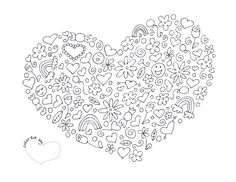heart coloring page.pdf
